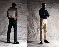 Yohji Jeans - Denim from Yohji Yamamoto & Edwin A/W 2012