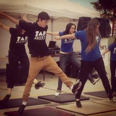 start tap dancing again