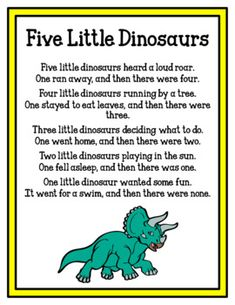 Dinosaur Paper Hat/Crown Printables with Poem Freebie - Dinosaur - fun craft Dinosaur Poem, Dinosaur Theme Preschool, Dinosaur Crafts, Preschool Songs, The Good Dinosaur, Preschool Lessons, Preschool Crafts, Dino Craft, Dinosaur Puppet