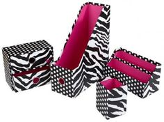 Work Feels More Like Play With These Funky Hot Pink Zebra Tab Dividers For 3 Ring Binders Striking And Print Make