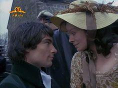 Timothy Dalton as Heathcliff with Anna Calder-Marshall as Cathy