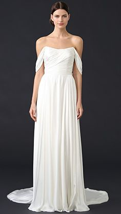4da0ad6640e9d Theia Delphine Off Shoulder Gown Wedding Dress Sizes