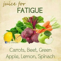 Homemade Juice Therapy: Fatigue