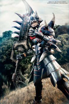 Akageo Armor Cosplay Monster Hunter