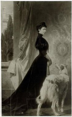 Empress Elisabeth of Austria aka: Sissi ( spouse of Franz Joseph I, and therefore both Empress of Austria and Queen of Hungary. She also held the titles of Queen of Bohemia and Croatia)
