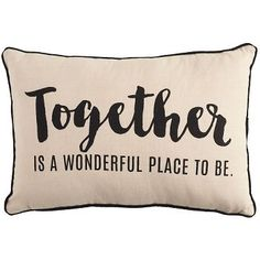 Accent your space with this Paper Source exclusive design featuring a sweet sentiment Together is a Wonderful Place To Be. A perfect addition to any room!<br><br>Size - 10 x 15