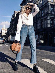Como usar camisa e calça jeans e ficar cool