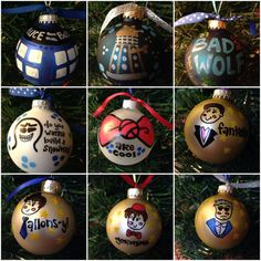 Decorate! Decorate! Doctor Who-inspired Ornaments