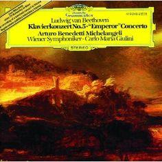 "Arturo Benedetti Michelangeli - Beethoven: Klavierkonzert Nr. 5 in Es-Dur, op.73 -""Emperor"""