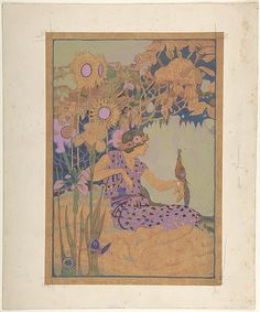 George Sheringham (British, 1884–1937). How Summer Came to Canada: Canadian Wonder Tales, ca. 1918. The Metropolitan Museum of Art, New York. The Elisha Whittelsey Collection, The Elisha Whittelsey Fund, 1967 (67.800.1)