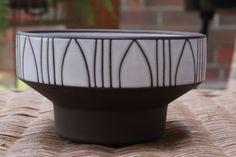 BKW Design Keramik Schale WGP 60s Vintage Pottery ArtPottery Midcentury 50s