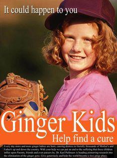 Ginger kids...LOL