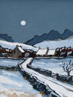 David BARNES - The Denbigh Moors in winter