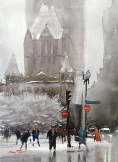 Gary Tucker, New Snow Copley Square