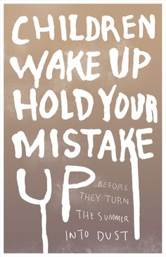 From Arcade Fire, Wake Up