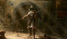 Gladiator - by Artem Khorchev