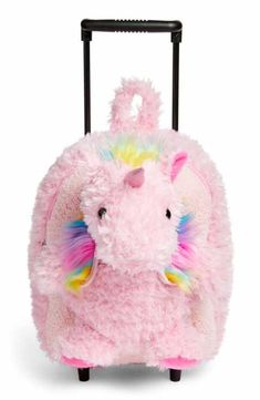 online shopping for Popatu Unicorn Trolley Rolling Backpack (Kids) from top store. See new offer for Popatu Unicorn Trolley Rolling Backpack (Kids) Unicorn Bedroom Decor, Unicorn Rooms, Baby Girl Toys, Toys For Girls, Unicorn Birthday Parties, Unicorn Party, Unicorn Fashion, Kids Luggage, Cute School Supplies