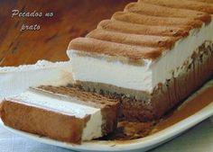 Tiramisu, Deserts, Ice Cream, Ethnic Recipes, Food, Mousse, Creme, Delicious Desserts, Wafer Cookies
