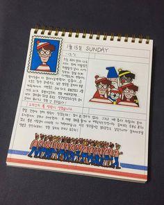 韓国の学生に人気の、ノートが可愛くなる「インス」って何? - HARUHARU〈ハルハル〉