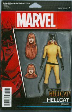 Patsy Walker AKA Hellcat #1 Cover C Variant John Tyler Christopher Action Figure Cover