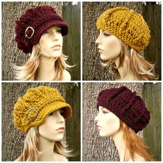Instant Download Crochet Pattern  Hat Crochet Pattern by pixiebell, $5.00