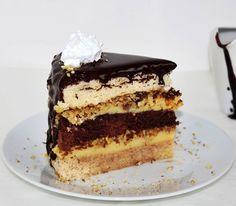 Somlói torta szelet