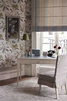 NINA CAMPBELL - Montacute wallpaper from the Montacute collection Autumn 2011 - @Nina_Campbell