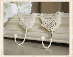 Bird Hooks from Vintage Amethyst. For the tutu hanger.