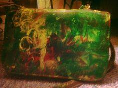 Back of Purse Jamaican Bag