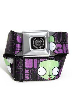 Invader Zim 'Gir' belt
