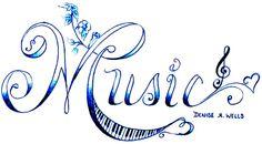 Music tLove Treble Clef Tattoo Design by Denise A. Wellsattoo by Denise A. Wells photo MusicTattoo.jpg