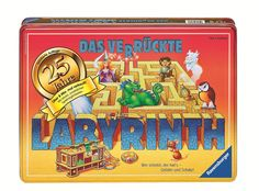 "25th Anniversary of ""Das verrückte Labyrinth"" (1986) by RAVENSBURGER 