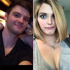 Transgender Before And After, Male To Female Transformation, Mtf Transition, Men And Women, Crossdressers, Inspirational, Lady, Fashion, Moda