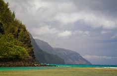 Kee Beach - end of the road on the noryh shore of Kauai. Can view cliffs of Bali Hai - Top 10 Most Scenic Spots in Hawaii Photos | Fodor's Travel Guides