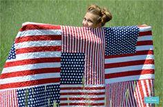 Riley Blake Designs Blog: Grand Old Flag Quilt Tutorial