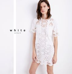 Zara has launched a new lookbook focusing on all white style