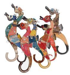 Stefano Pilato #seahorse #art