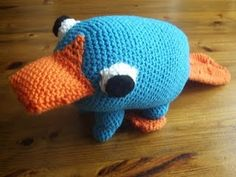 Crochet Perry (no instructions, not a direct link...but cute stuff, link not in English)