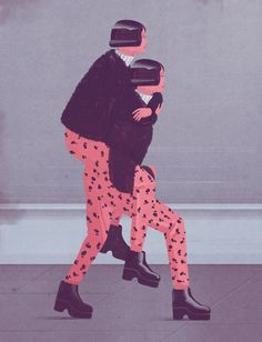 Adulting: How to Become a Grown-up in 468 Easy(ish) StepsIllustration for La Repubblica