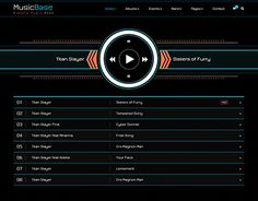 """Check out new work on my @Behance portfolio: """"Music Base  - Band Artist Radio HTML Template"""" http://be.net/gallery/44234989/Music-Base-Band-Artist-Radio-HTML-Template"""