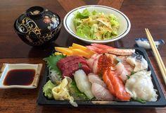 Chirashi lunch!