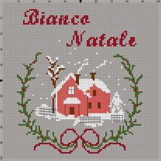 La Casetta Delle Piccole e Dolci Creazioni -Daniela Stitch Design: Bianco Natale- Free