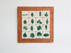 Tablou cu motive vegetale: frunze #5 | Corina Marina Ceramics Holiday Decor, Home Decor, Decoration Home, Room Decor, Home Interior Design, Home Decoration, Interior Design