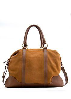 MANGO - BAGS - TOUCH - Leather bowling handbag - StyleSays