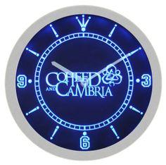 Coheed Cambria Metal Rock Music Neon Sign Bar Wall Clock