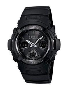 Casio Men's AWGM100B-1A Tough Solar Power Multi-Band Atomic G Shock Watch - http://www.the-solar-shop.com/casio-mens-awgm100b-1a-tough-solar-power-multi-band-atomic-g-shock-watch/