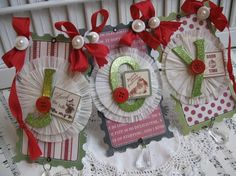 Items similar to paper banner JOY santa pendant garland decoration on Etsy Holiday Banner, Christmas Banners, Christmas Fun, Christmas Paper Crafts, Valentine Crafts, Paper Rosettes, Paper Pinwheels, Crepe Paper, Pendant Banner