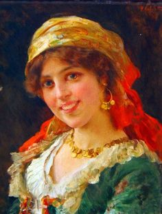 """""""Jeune Femme"""". (by Federico Andreotti)"""