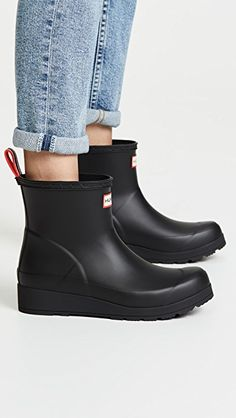 e45fec0d29a Hunter Boots Original Play Short Boots Wedge Boots