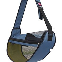 FUNDLE pet sling Cool Carrier Bag Adjustable Strap Seethrough LARGE OCEAN BLUE >>> You can get additional details at the image link.(This is an Amazon affiliate link and I receive a commission for the sales)